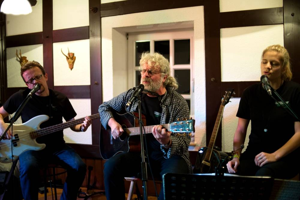 Stengel Photo Bad Hersfeld - Shiregreen-Trio live auf Hof Guttels